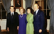 First Ladies Posters - President Richard Nixon, Pat Nixon Poster by Everett