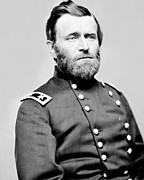 Leader Posters - President Ulysses S Grant in Uniform Poster by International  Images
