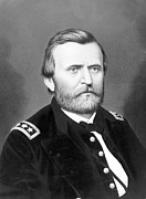 General Ulysses Grant Framed Prints - President Ulysses S Grant Framed Print by International  Images