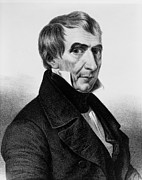 Presidential Portrait Posters - President William Harrison Poster by International  Images
