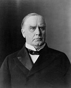 Us Presidents Framed Prints - President William McKinley Framed Print by International  Images