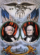 Abolition Movement Metal Prints - Presidential Campaign, 1848 Metal Print by Granger