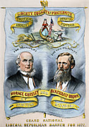 Greeley Framed Prints - Presidential Campaign, 1872 Framed Print by Granger