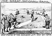 Washington Dc Baseball Art - Presidential Campaign, 1884 by Granger