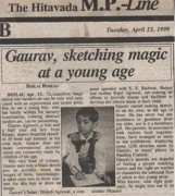 Gaurav Agrawal Art - Press-coverage by Gaurav Agrawal