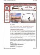 Press Release Carole Spandau Paints Cover Art For Hockeytown Cd By Tim Hus Print by Carole Spandau