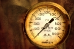 Pressure Gauge Print by Charuhas Images