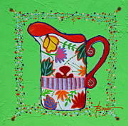 Still Lifes - Pretty As A Pitcher by Adele Bower
