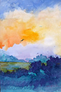 Puerto Rico Paintings - Pretty Dawn by Estela Robles