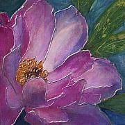 Garden Painting Originals - Pretty in Pink by Barb Pearson