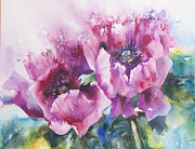Blooming Paintings - Pretty in Pink by Kate Bedell