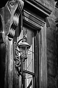 Val Black Russian Tourchin - Pretty Lamp in Black and White