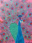 Dawn Plyler - Pretty Pink Peacock