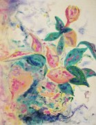 Leclair Prints - Pretty Plant Print by Suzanne  Marie Leclair
