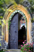 Richard Piper Metal Prints - Pretty Portal  Metal Print by Richard Piper