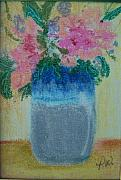 Pottery Pastels - Pretty Pottery by Pamela Wilson