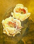 Arizona Artist Originals - Prickly Pear by G Kay Cummings