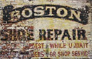 Shoe Repair Prints - Pride and Honor Print by Phil Cappiali Jr