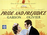 Laurence Photo Posters - Pride And Prejudice, Greer Garson Poster by Everett