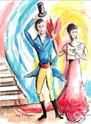 Pride Paintings - Pride and Prejudice by Suzanne Ackerman