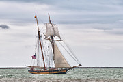 Ocean Art Photos Originals - Pride of Baltimore II 5985 by Guy Whiteley