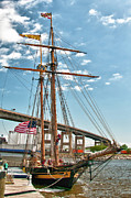 Ocean Art Photos Originals - Pride of Baltimore II 6298 by Guy Whiteley