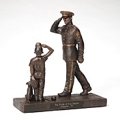 Military Sculptures - Pride of Our Nation - Marine by Eric Westfall