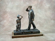 Military Sculptures - Pride of Our Nation - Navy by Eric Westfall