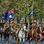 Anzac Photos - Pride of War and Peace by Douglas Barnard