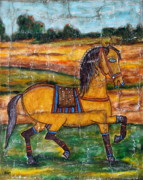 Mexican Horse Paintings - Pride by Rain Ririn