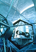 Keck Telescope Photos - Primary Mirror Of The Keck Ii Telescope, Hawaii by David Nunuk