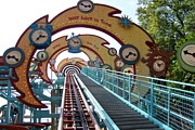 Wdw Framed Prints - Primeval Whirl Framed Print by Carol  Bradley - Double B Photography