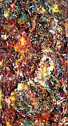 Abstract And Or Expressionistic Work - Primordial boogie woogie series - tucked in tight by Charles Peck