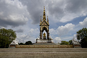 Cityscape Photograph Photos - Prince Albert memorial statue  by David French