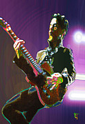 Guitar Digital Art Prints - Prince Print by Byron Fli Walker