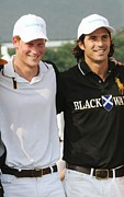 Polo Photos - Prince Harry, Nacho Figueras by Everett