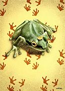 Frog Prince Prints - Prince Prints... Print by Will Bullas