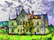 Romania Digital Art - Princely Palace by Jeff Kolker