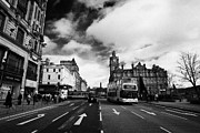 Princes Photo Framed Prints - Princes Street Edinburgh Scotland Framed Print by Joe Fox