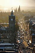 Princes Prints - Princes Street I Print by Matthias Keysermann