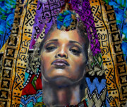 African-american Mixed Media Prints - Princess 1 Print by Gary Williams