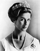 British Portraits Framed Prints - Princess Alexandra, Member Framed Print by Everett