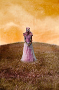 Contaminated Art - Princess in Gas Mask by Jill Battaglia