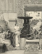 Tadema Photos - Print Based On A Lawrence Alma Tadema by Everett