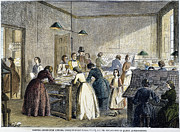 Compositor Photos - Printing Office, 1861 by Granger