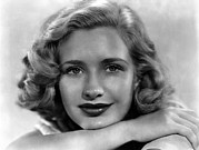 Publicity Shot Framed Prints - Priscilla Lane, Ca. 1938 Framed Print by Everett