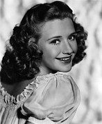 Priscilla Lane, Ca. 1940s Print by Everett