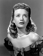 Bare Shoulder Framed Prints - Priscilla Lane, Ca. 1942 Framed Print by Everett