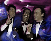 Schuenman Mixed Media - Prismatic Rat Pack by Christine Mayfield