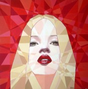 Prismatic Painting Originals - Prismatic Seductive Expression by Joseph  Barbara